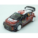 Citroen C3 WRC Nr.10 Rally Monte Carlo 2018 model 1:43 IXO Models RAM662