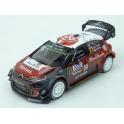 Citroen C3 WRC Nr.11 Rally Tour de Corse 2018 model 1:43 IXO Models RAM672