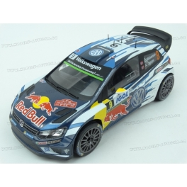 Volkswagen Polo R WRC Nr.9 Red Bull Rally Tour de Corse  2016 (3rd place) model 1:18 IXO MODELS 18RMC018C