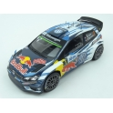 Volkswagen Polo R WRC Nr.1 Red Bull Winner Rally Tour de Corse  2016, IXO Models 1/18 scale