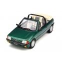 Peugeot 205 Roland Garros Cabriolet 1989 model 1:18 OttO mobile OT733