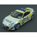 Toyota GT86 Sweden Police Car 2013 model 1:43 J-Collection JC295