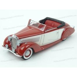 Mercedes Benz (W153) 230 Graber Cabriolet 1939, AutoCult 1/43 scale