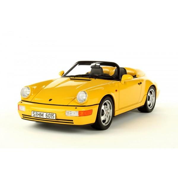 porsche 911 type 964 speedster 1992 yellow. Black Bedroom Furniture Sets. Home Design Ideas