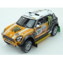MINI ALL4 Racing Nr.307 3rd Dakar 2013 model 1:43 IXO Models RAM575P