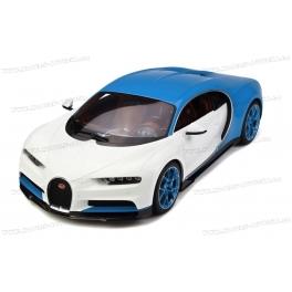Bugatti Chiron 2016 (Blue/White) model 1:12 GT Spirit KSR08664W-Z