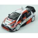 Toyota Yaris WRC Nr.10 Microsoft 2nd Rally Monte Carlo 2017 (Championship Rally) model 1:43 IXO Models RAM647