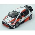 Toyota Yaris WRC Nr.10 Winner (nebo Nr.11) Microsoft Rally Sweden 2017 (Championship Rally) model 1:43 IXO Models RAM648