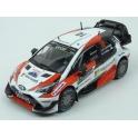 Toyota Yaris WRC Nr.10 Microsoft Winner Rally Sweden 2017 model 1:43 IXO Models RAM648-10