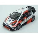 Toyota Yaris WRC Nr.11 Microsoft Rally Sweden 2017 model 1:43 IXO Models RAM648-11
