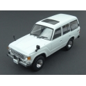 Toyota Land Cruiser LC60 1982 (White) model 1:43 First 43 Models F43-071