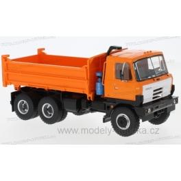 Tatra T815 S3 třístranný sklápěč 1983 (Orange) model 1:43 Premium ClassiXXs PCL47061