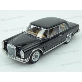 Merdeces Benz 600 (W100) Nallinger Coupe 1963 (Black), BoS Models 1/43 scale