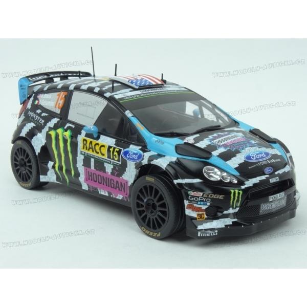 2014 Ford Fiesta RS WRC Rallye Catalunya 1:18 IXO Models 18RMC017