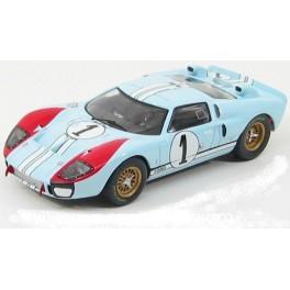 Ford GT40 Mk.II Nr.1 2nd Le Mans 1966, IXO MODELS 1:43