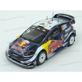 Ford Fiesta WRC No.2 (2nd place) Rally de Portugal 2018, IXO Models 1/43 scale