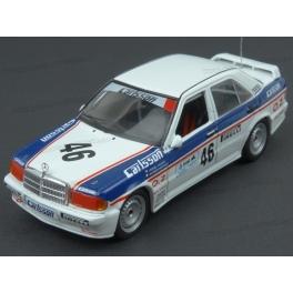 Mercedes Benz 190E 2.3-16V Nr.46 ETCC Silverstone 1986, IXO Models 1/43 scale