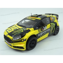 Ford Fiesta RS WRC Nr.46 Winner Monza Rally 2015, IXO Models 1/18 scale