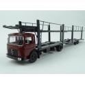 MAN F7 Car Transporter with Trailer 1970 model 1:43 IXO Models TTRX007