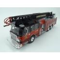"Smeal 105"" Fire Truck Huntersville Fire Department 2014, IXO Models 1/43 scale"