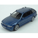 BMW (E39) 530d Touring 2002 (Blue met.) model 1:43 Neo Models NEO49555