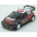 Citroen C3 WRC Nr.10 Rally Finland 2018 model 1:43 IXO Models RAM679