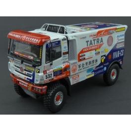 Tatra Phoenix Nr.532 Buggyra Team Dakar 2018 model 1:43 ScaleMasters SM532-2018