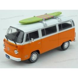 Volkswagen T2 Kombi with Surfboard 1975 model 1:43 IXO Models CLC302