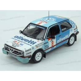 Volkswagen Golf GTI 16V Nr.8 Safari Rallye 1987 model 1:43 IXO Models RAC261