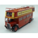 AEC Regent RT London Bus Open Top 1950 model 1:43 IXO Models BUS018
