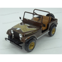 Jeep CJ-7 Golden Eagle 1980 model 1:18 MCG (Model Car Group) MCG18109