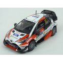Toyota Yaris WRC Nr.12 Toyota GAZOO Racing WRC Winner Rally Finland 2017 model 1:43 IXO Models RAM656