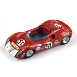 Abarth 1000 SP Nr.51 Le Mans 1969, SPARK 1:43