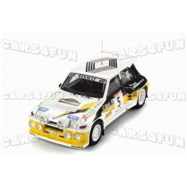 Renault 5 Maxi Turbo Rallye des Guarrigues 1986 Nr.5