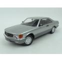 Mercedes Benz (C126) 560 SEC 1980 (Silver) model 1:18 KK-Scale KKDC180332