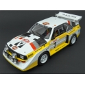 Audi Sport Quattro S1 Nr.2 (4th Place) Rally Monte Carlo 1986 model 1:18 IXO MODELS 18RMC025A