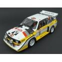 Audi Sport Quattro S1 Nr.6 (3rd Place) Rally Monte Carlo 1986, IXO Models 1/18 scale