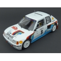 Peugeot 205 T16 Nr.8 Rally Monte Carlo 1985, IXO Models 1/18 scale