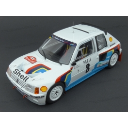 Peugeot 205 T16 Nr.8 Rally Monte Carlo 1985 model 1:18 IXO MODELS 18RMC022