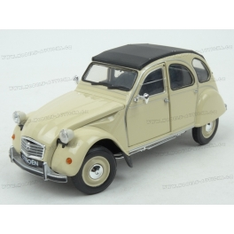 Citroen 2CV 1983 model 1:24 WELLY WE-24009be