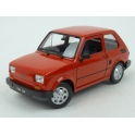 Fiat 126 1972 (Red) model 1:24 WELLY WE-24066r