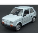 Fiat 126 1972 (White), WELLY 1:24