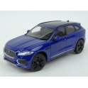 Jaguar F-Pace 2016 (Blue) model 1:24 WELLY WE-24070bl