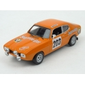 Ford Capri MkI Nr.203 Jägermeister Rally Monte Carlo 1973 model 1:43 IXO Models RAC269