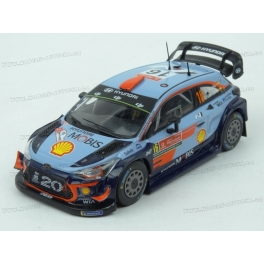 Hyundai i20 Coupe WRC Nr.16 Rally Portugal 2018 model 1:43 IXO Models RAM677