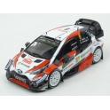 Toyota Yaris WRC Nr.8 2nd Rally Monte Carlo 2018 model 1:43 IXO Models RAM665