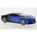 Bugatti Chiron 2016 (Blue/Blue) model 1:18 Bburago BB-18-11040Bl