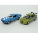 "Chevrolet Camaro Yenko SC 1969 + Mitsubishi Lancer Evolution VII 2002 ""Rychle a zběsile"" (2003), GreenLight 1/43 scale"