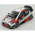 Toyota Yaris WRC Nr.5 Rally Sweden 2019 model 1:43 IXO Models RAM709