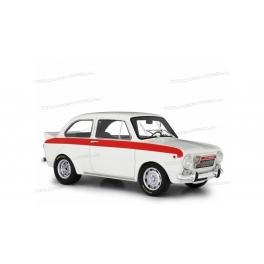 Fiat Abarth 1600 OT Test 1965 (White) model 1:18 Laudoracing-Model LM105B5